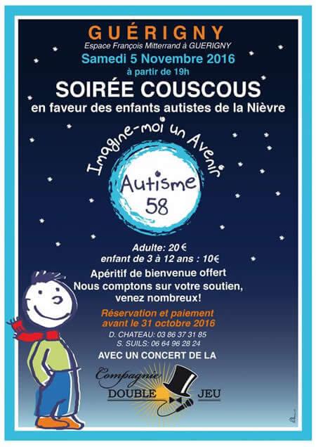 5 novembre soiree couscous guerigny