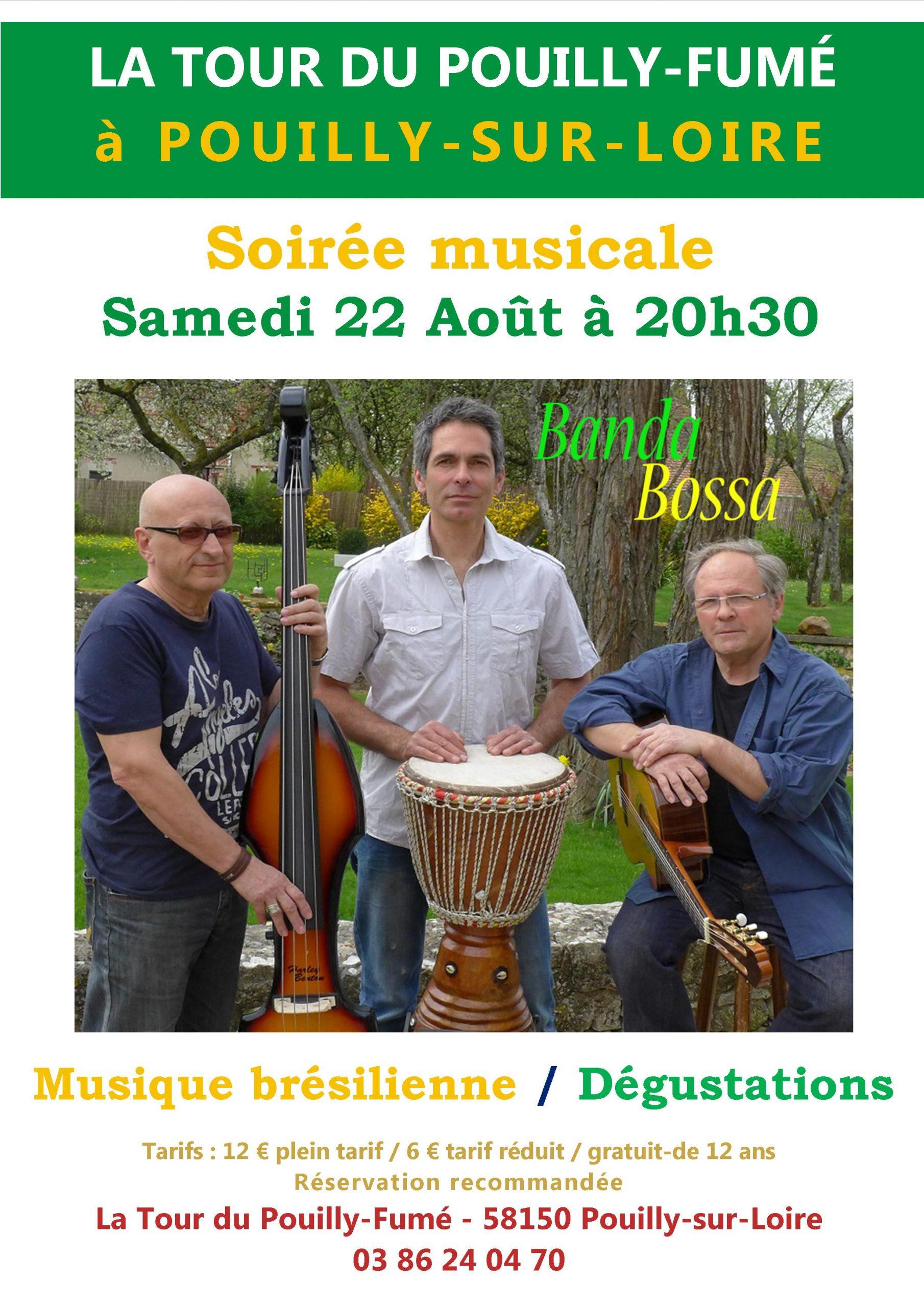 Bossa Banda à pouilly sur Loire