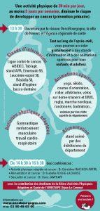 Activités Physiques, Alimentation et Cancer