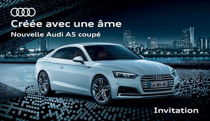 Invitation Audi A5