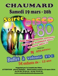 Soirée Disco 80