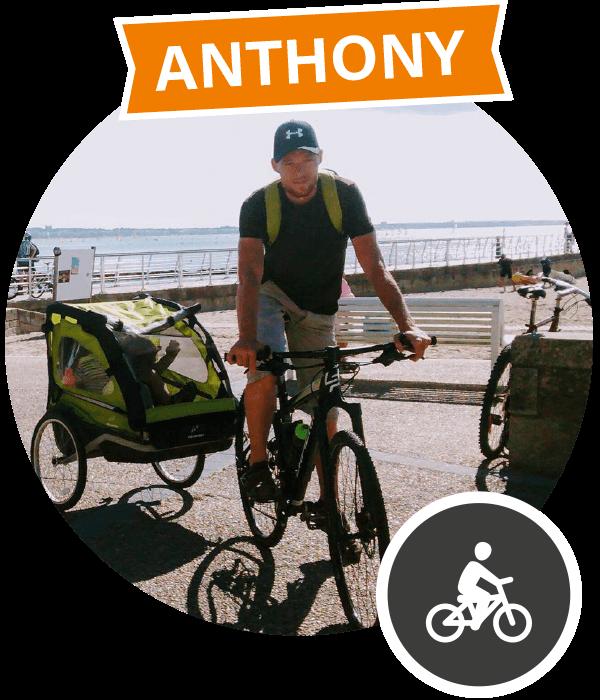 Anthony, convaincu par la Nièvre à vélo
