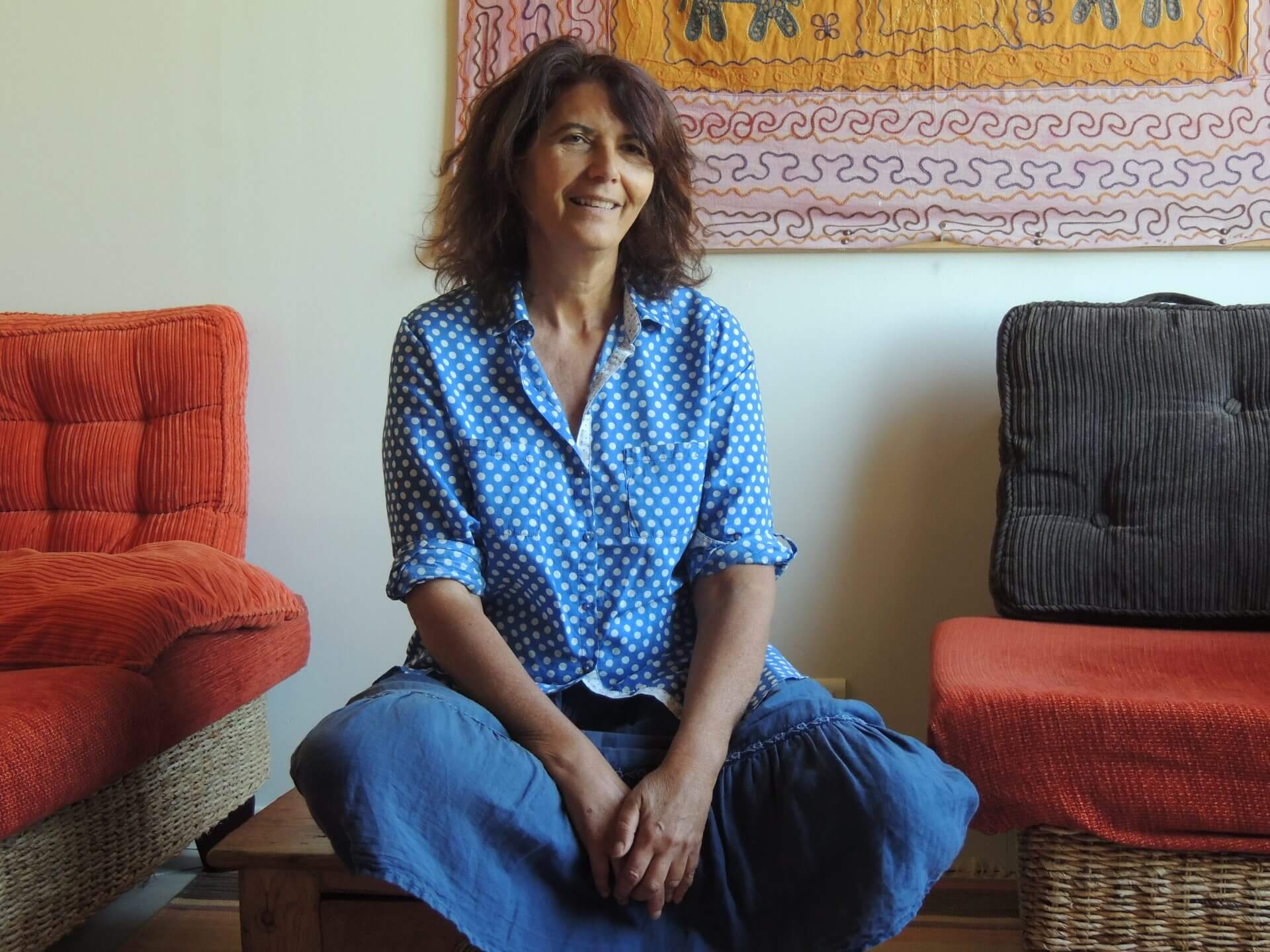 Ariane Cohen, professeur de Yoga