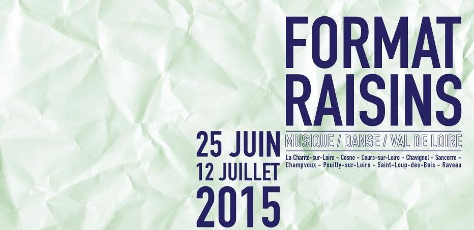 Format Raisin affiche 2015