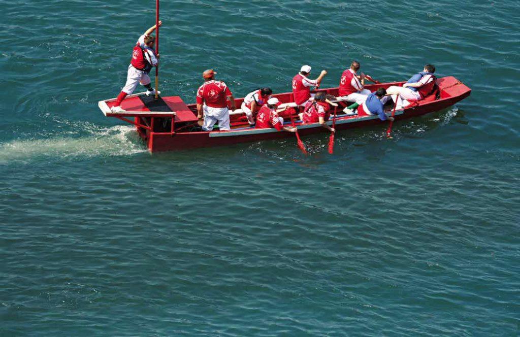 Joutes nautiques à Clamecy