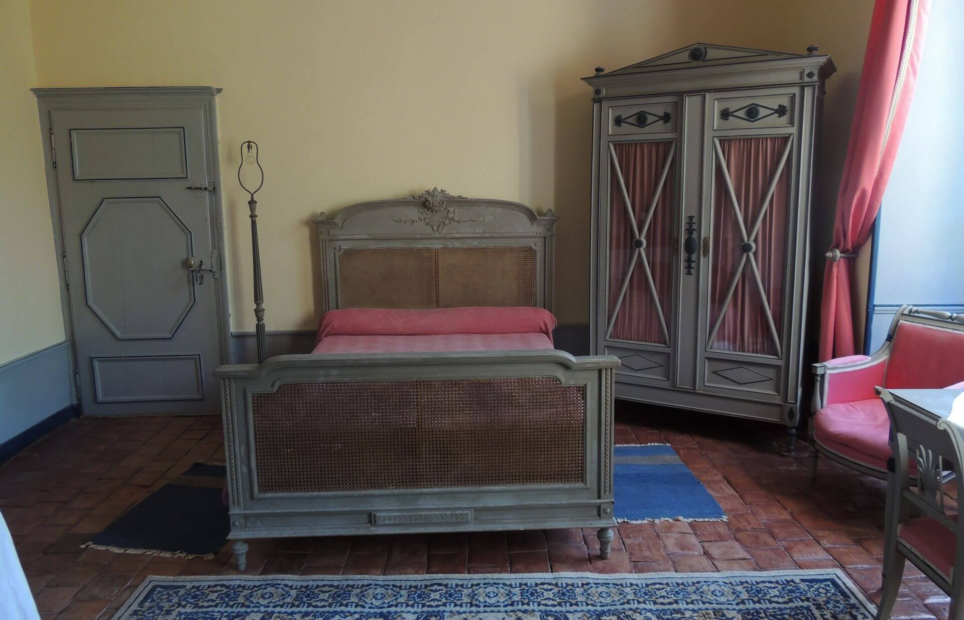 La chambre du fantôme de Pernelle, rarement louée...