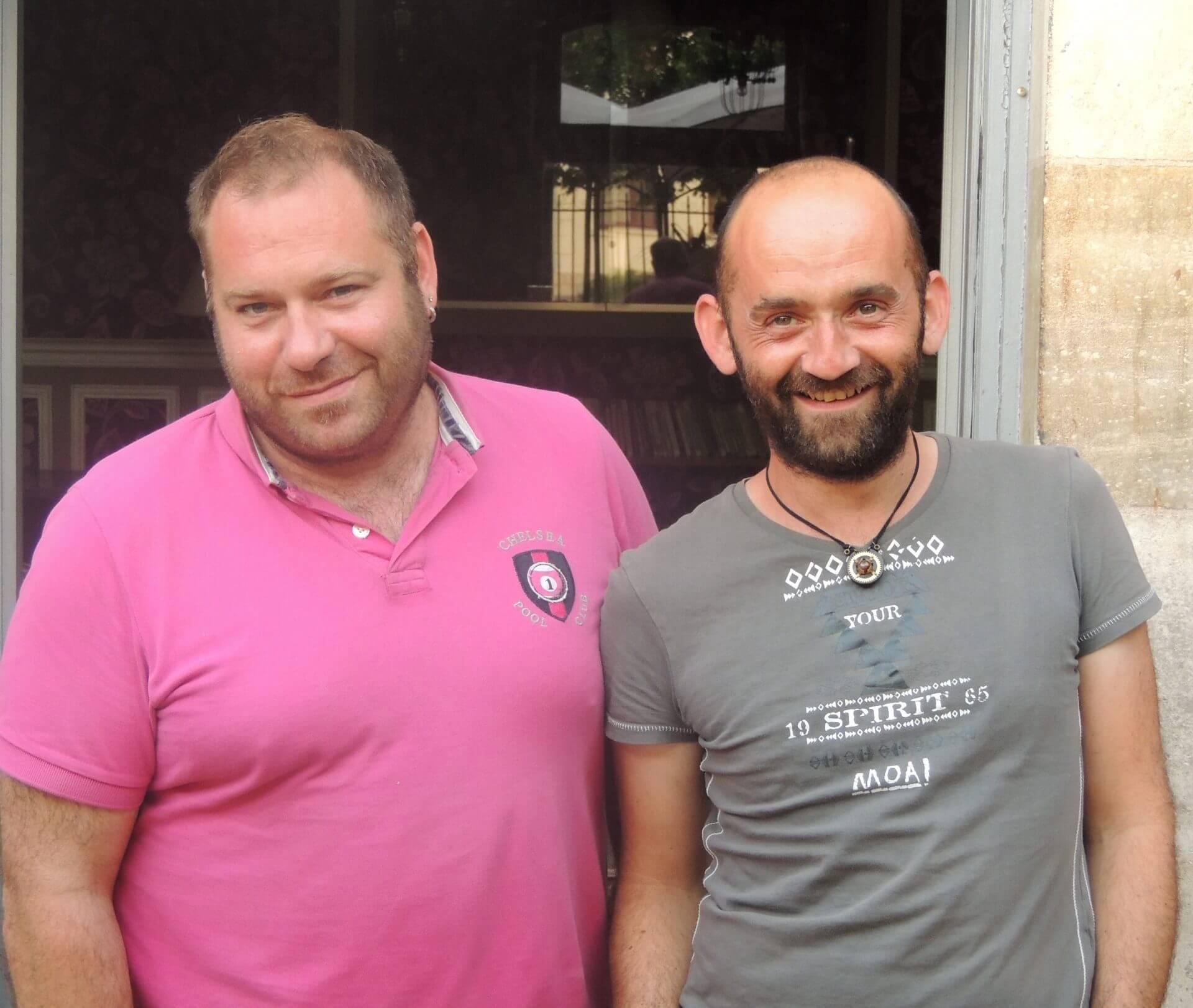 Cyrille & Didier, du Tip's café-théâtre