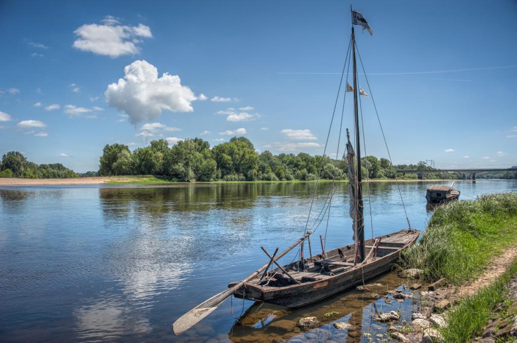 Balade en Toue cabanée sur la Loire