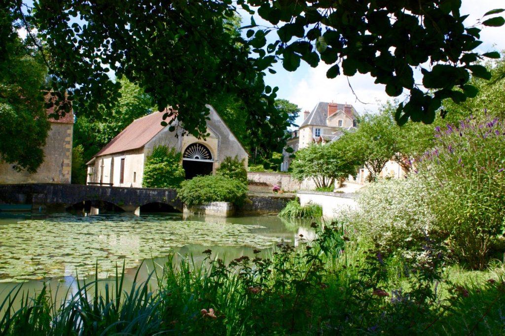 Le jardin de Forgeneuve dans la Nièvre
