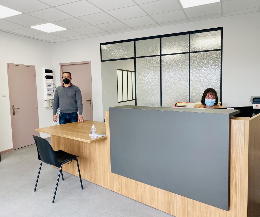 Nouvelle boutique pour Tout Fer Serrurerie qui déménage place Mossé à Nevers