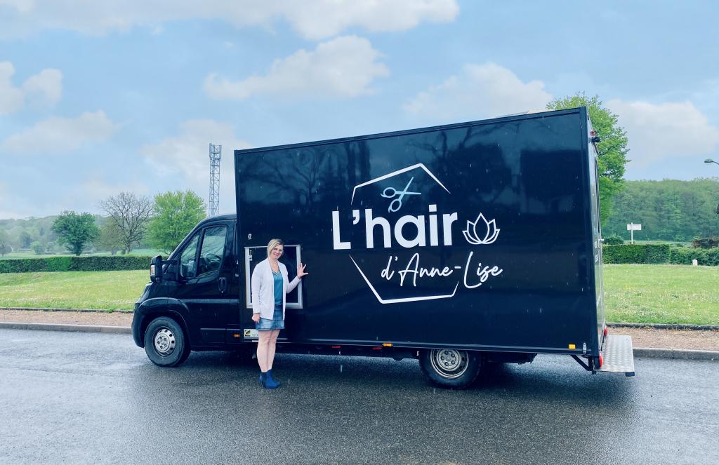 Nouveauté : Le camion d'Anne Lise la coiffeuse qui vient à vous !