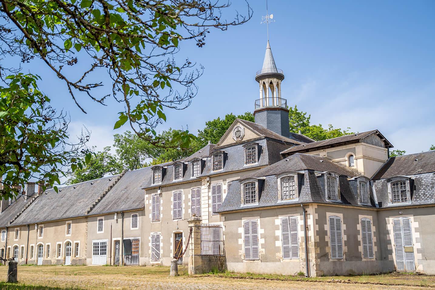 Le Château Babaud de la Chaussade à Guérigny