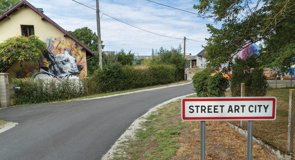 Entrée de Street art city
